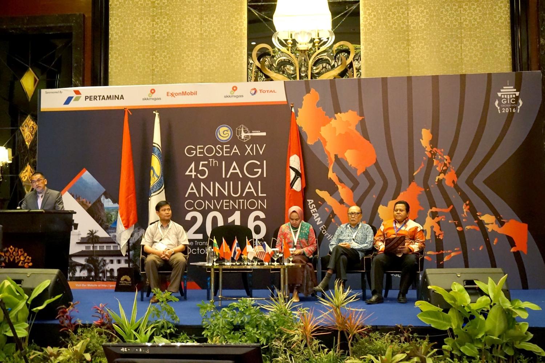 Các đại biểu tham gia Đại hội Geosea 14 tại Indonesia