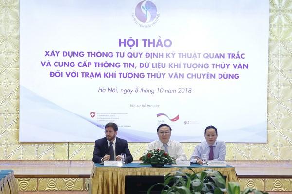 Thứ trưởng Bộ TN&MT Lê Công Thành chủ trì Hội thảo