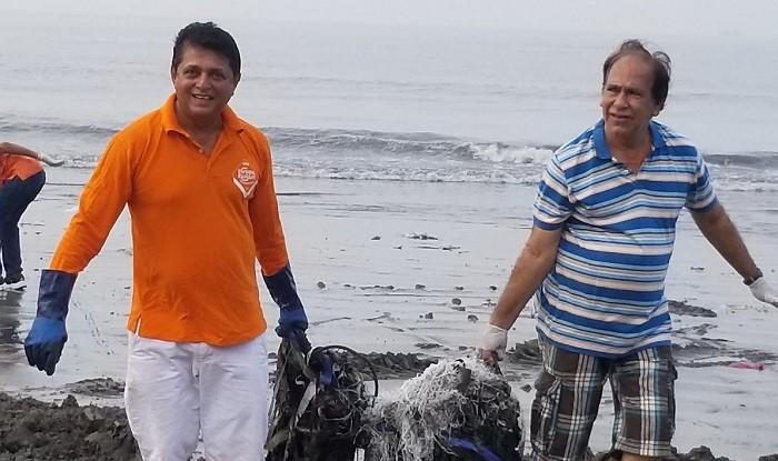Luật sư Afroz Shah với hoạt động dọn rác trên biển