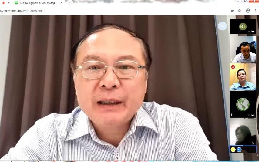 Thứ trưởng Lê Công Thành chủ trì cuộc họp trực tuyến sáng 3/4.